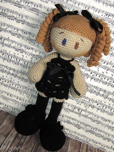 Crochet doll. (Inspiration). ♡