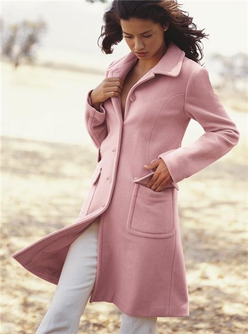 Pink trench coat anna7891 #2dayslook #pink coat #pinkjacket www.2dayslook.com