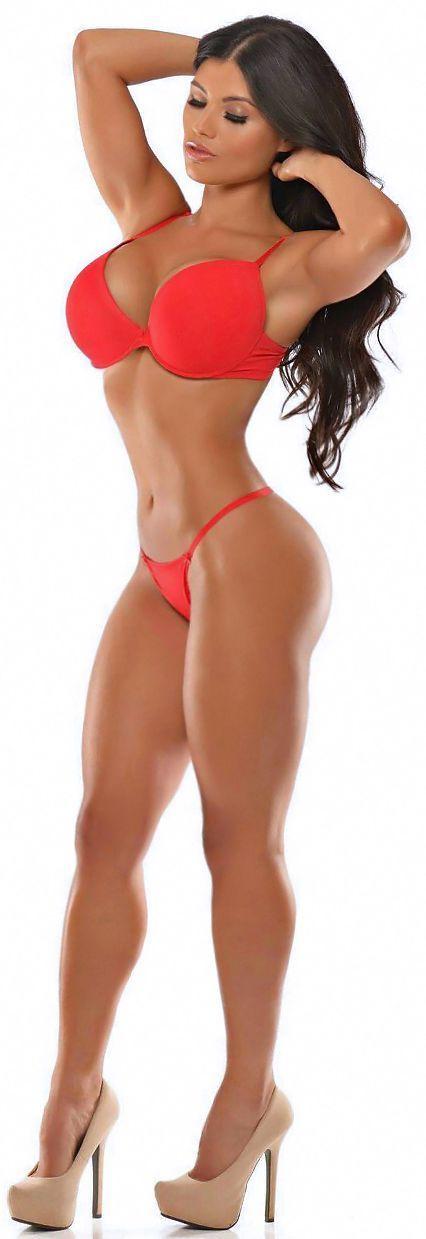 Tits cum sexy fitness legs