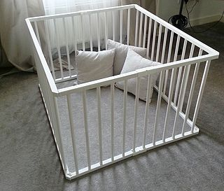 Diy Baby Play Pen Step Inside My Handbag Diy Baby Gate