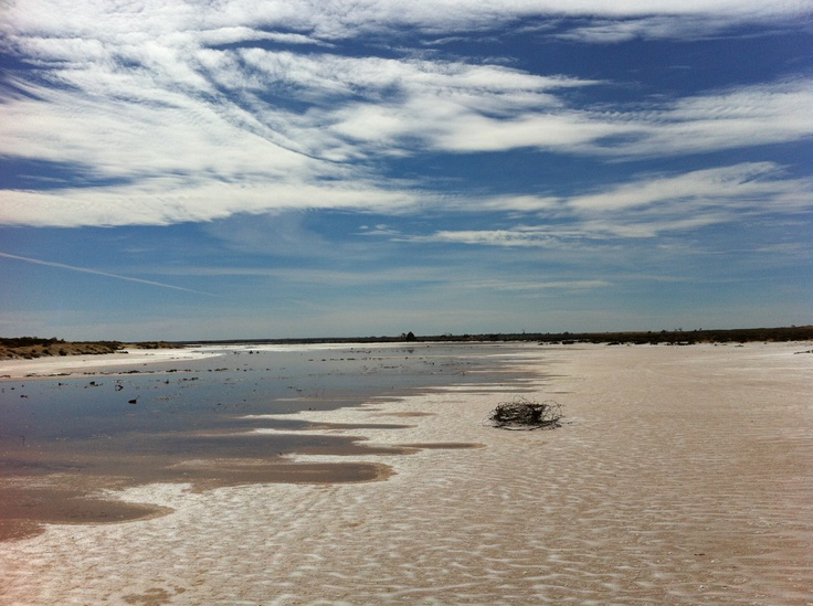 Lake Tyrrell. Sea Lake. #victoria #australia #salt