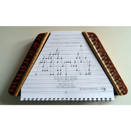 Music Maker Lap Harp, Zither, European-made PLUS Zither Music Book for Beginners by Music Maker ...
