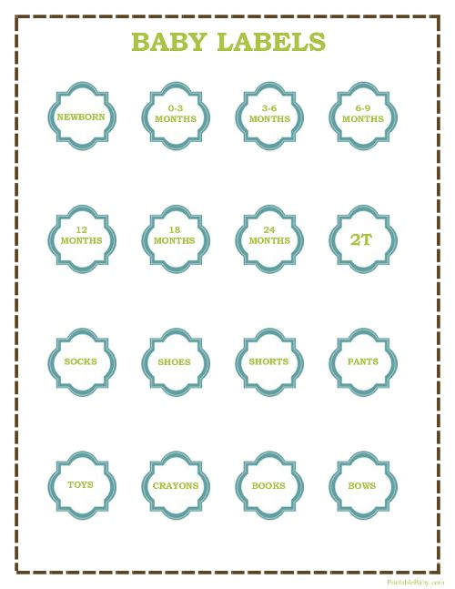 printable baby clothes labels for bins of clothes sawyer 39 s outgrown diy project ideas. Black Bedroom Furniture Sets. Home Design Ideas