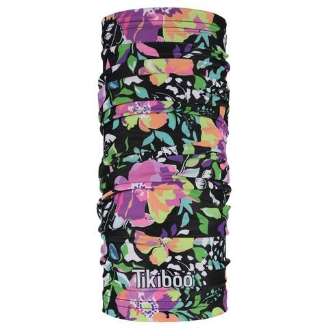 Tikiboo Neon Flower Scarf #Activewear #Gymwear #FitnessLeggings #Leggings #Tikiboo #Running #Yoga