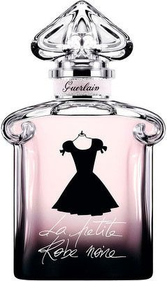 "I am absolutely essential and utterly irresistible. I am the chic and very glamorous perfumed creation by Guerlain. My fragrance is an embroidery of the most beautiful ""black"" notes of perfumery: black cherry, black rose, patchouli and black tea. (Love this...spicy, peppery, black cherry...that's what I get from it)"