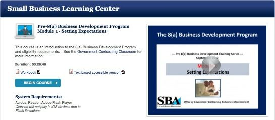 Free Online Education Courses From The Small Business Administration