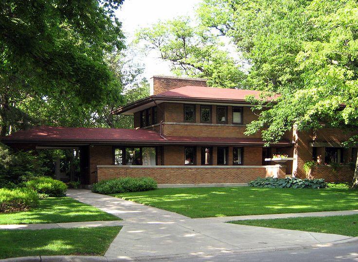 Frank Lloyd Wright Prairie Style 61 best frank lloyd wright prairie house images on pinterest