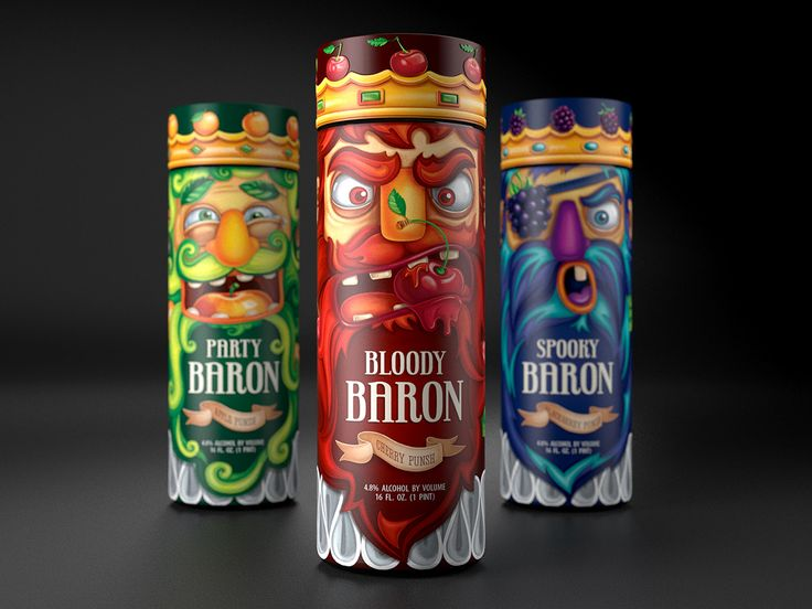 Party Barons (Concept) on Packaging of the World - Creative Package Design Gallery