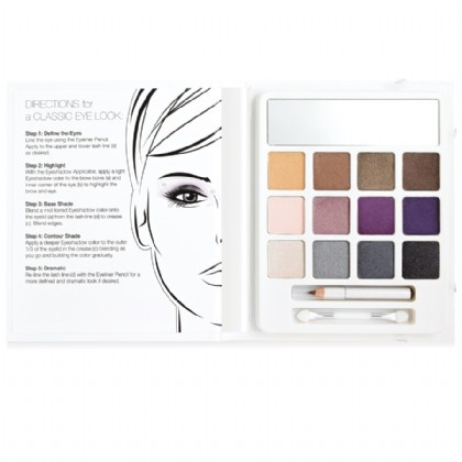 e.l.f. Essential 12-Piece Eyeshadow Beauty Book