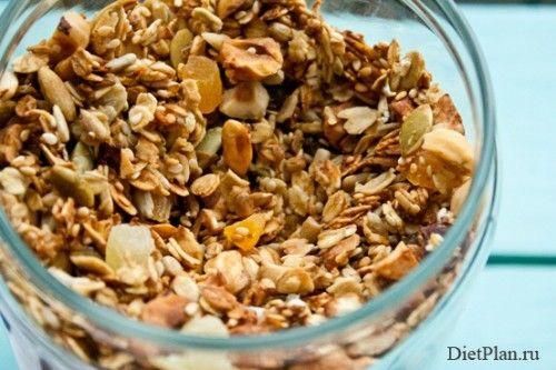 Апельсиновая гранола с курагой и ананасом - домашние мюсли рецепт с фото | Диетические низкокалорийные рецепты - блюда правильного питания на Dietplan.ru