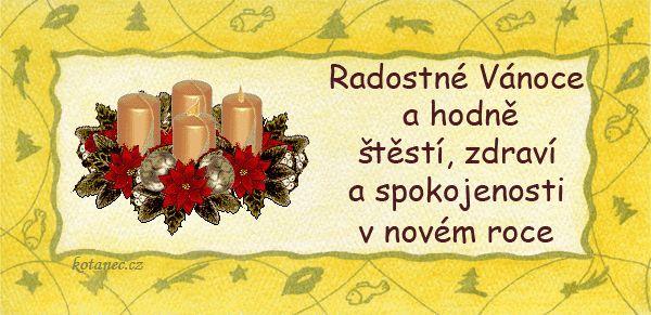 vánoční přání - přáníčka 035
