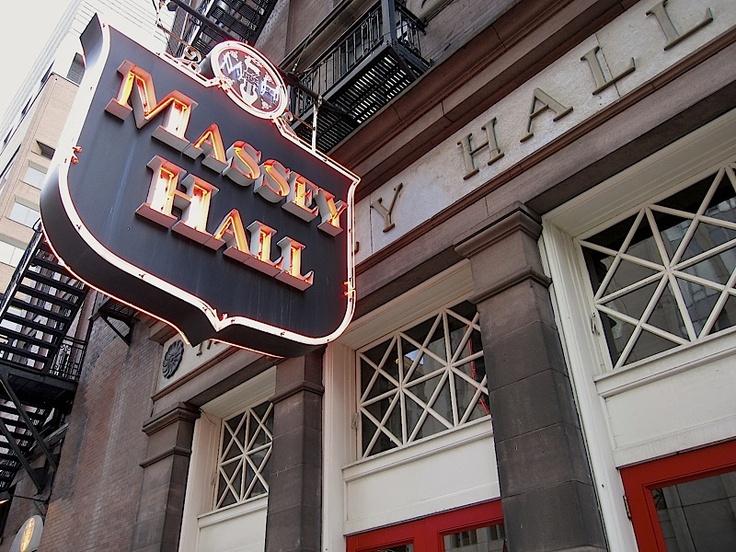 Massey Hall Toronto Canada