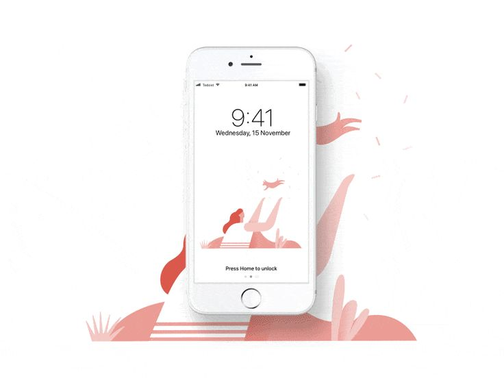 Todoist Zero Wallpaper by @alexmuench