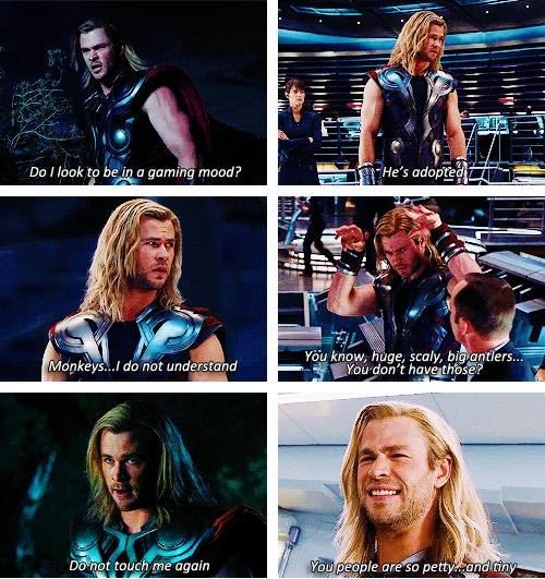 "Thor Quotes.  ""Do I look to be in a gaming mood?"""