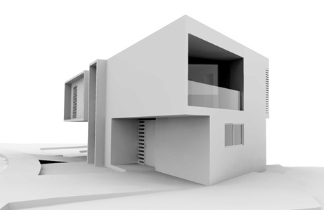 Diseño arquitectónico de casa para coto residencial dentro de la zona metropolitana de Guadalajara.