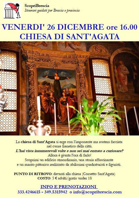 Chiesa di Sant'Agata con Scopri Brescia http://www.panesalamina.com/2014/31555-chiesa-di-santagata-con-scopri-brescia.html