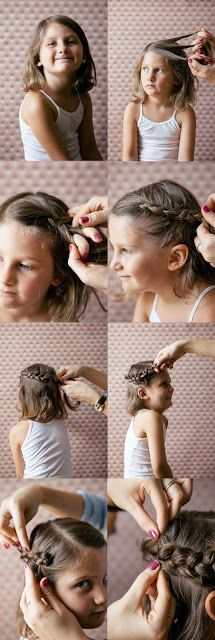 Pequeña Fashionista: Peinados