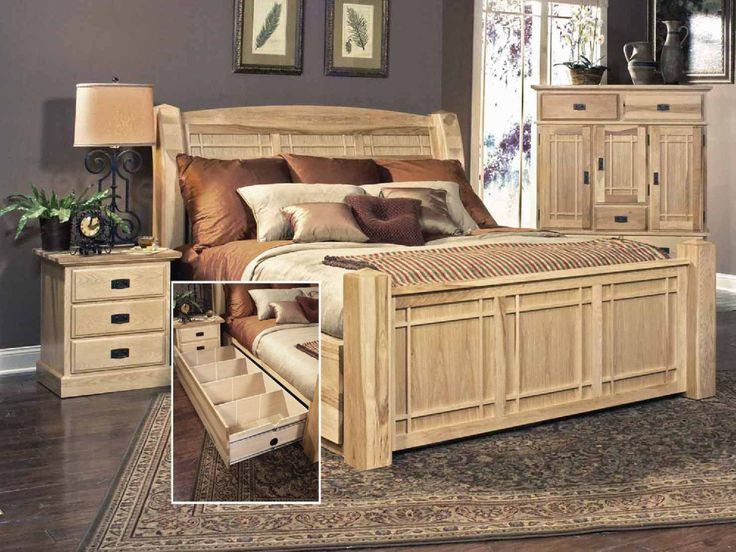 Hickory Highlands Storage Bed By Thomas Cole Hom Furniture In 2020 Hickory Bedroom Furniture Hom Furniture Furniture