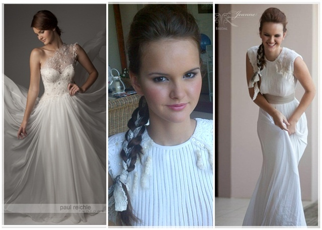 bridal hair ideas and make-up by Robyn Bowles
