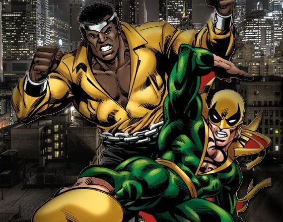 heroes for hire iron fist luke cage ray park Marvel & Netflix Confirm Deal For 4 TV Shows & Defenders Miniseries