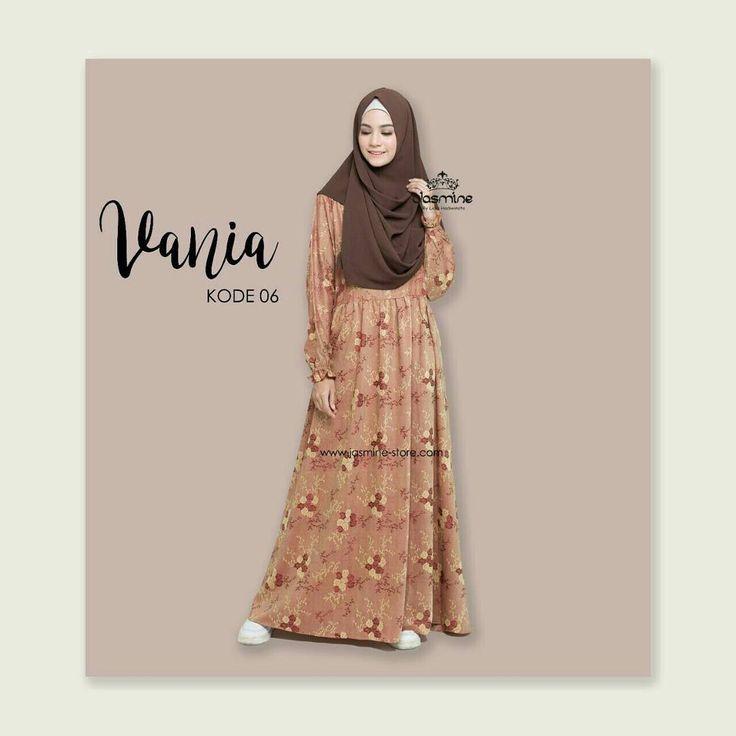 ��Vania Dress (Material Victoria) Terdiri dari 1 motif (4 warna) Total 4 kode IDR : 235.000  Jasmine: ��Detail Matt. Victoria : -Zipper depan (panjang) -Cutting pinggang -Lengan Karet + rumbai -saku kanan -Rok depan kerut kecil -belakang karet separuh (kecil) -Lebar rok 3m . order/info: WA/SMS: +62 813-3412-1311 BBM: KAPULAGA Line : @ppg9026m Instagram : @gamissyari_bykapulaga  Kaos & tas dakwah kekinian cek @kapulagaclothing  Pakaian dan kelengkapan olahraga muslimah cek…