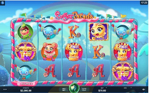 Zuckersüß: Sugar Parade ist der Slot für alle Süßigkeiten-Fans - und sind wir das nicht alle? Test und gratis Demo: