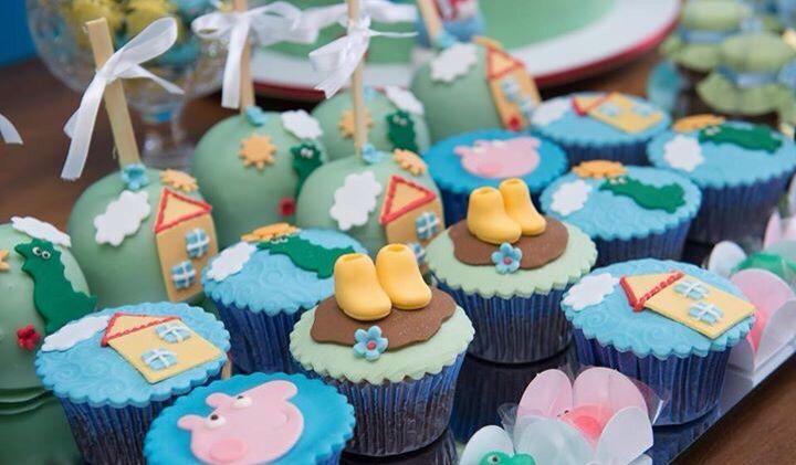 Cupcakes Festa George Pig