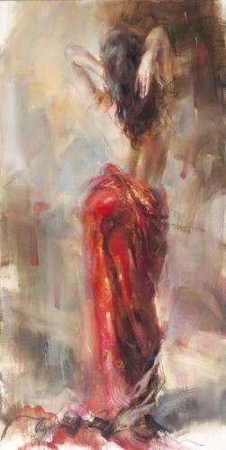 Aurora In Red by Anna Razumovskaya