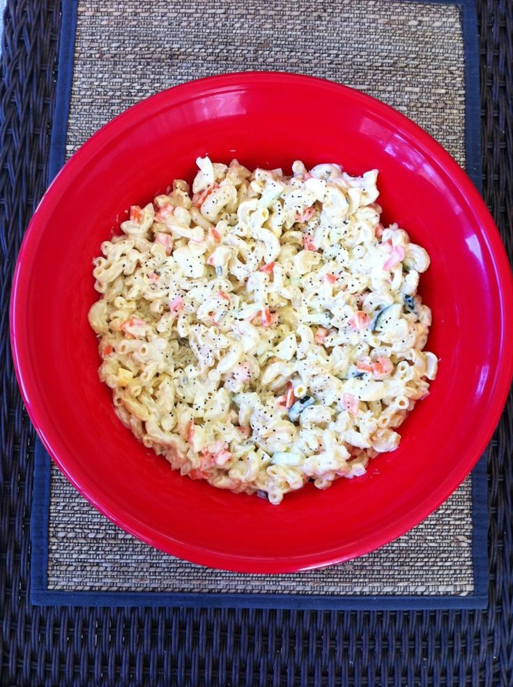 Kathe With An E - The Perfect Eggy Mac Salad Perfect Salad With BBQ