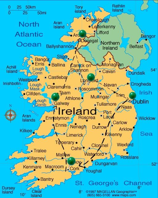 Ireland Travel Car Rental