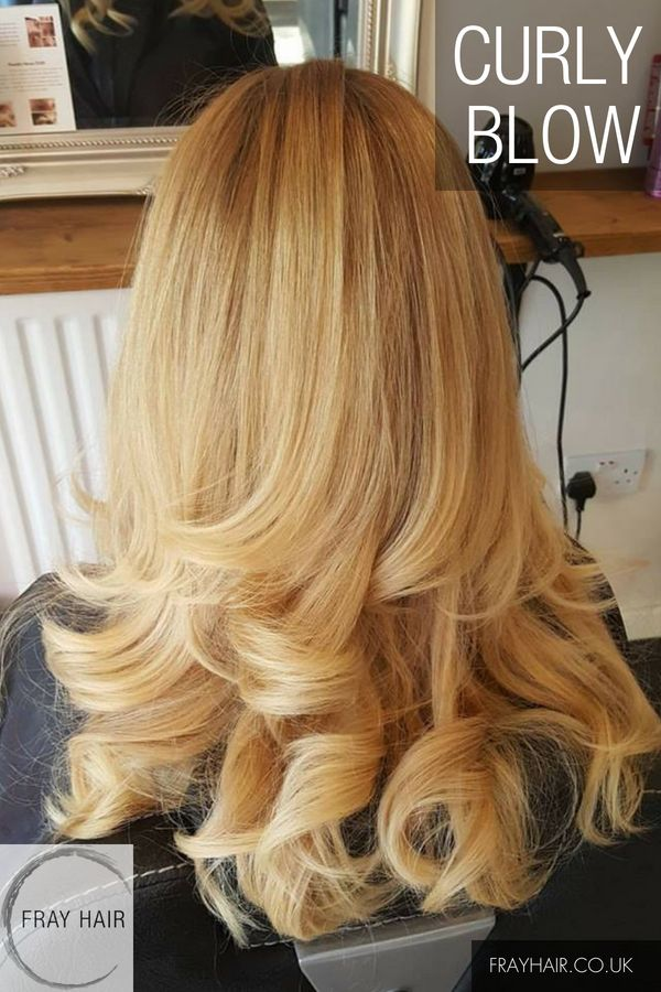Curly Blow At Fray Hair Hoylake Wirral Perfect For A Night Out