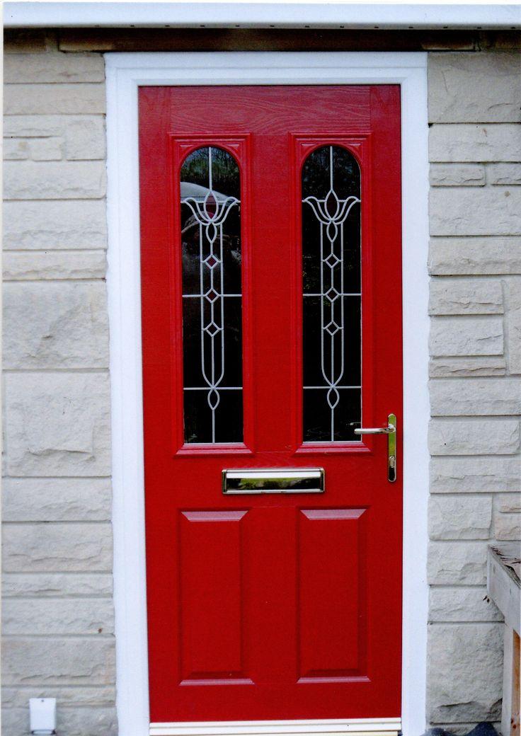 A red composite door www.imagewindows.com