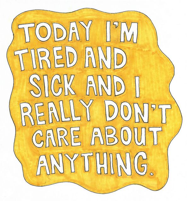 Or, every day with fibro...