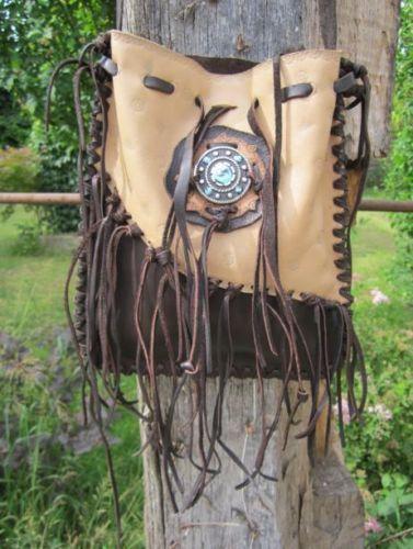 Leder-Beutel-Tasche-Cowboy-Indianer-Western-Sattel-Handtasche-Cowgirl-Stiefel