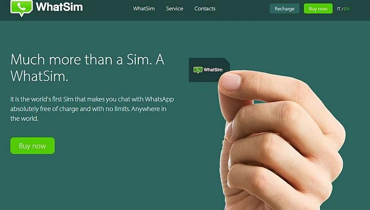 WHATSIM Touch down in a foreign country, and it's likely that you will send the first message to your loved ones at home via WhatsApp only when you locate a Wi-Fi network.