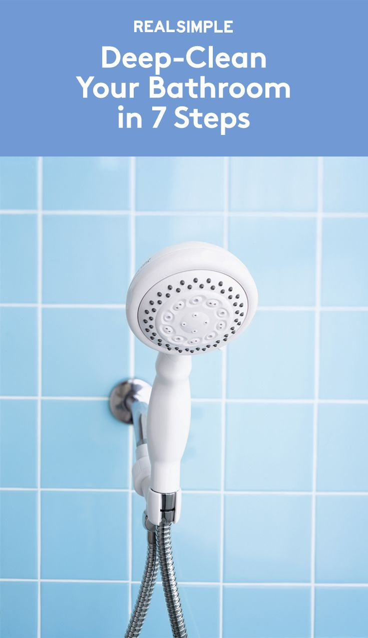 deep clean your bathroom in 7 steps cleaning bathrooms cleaning