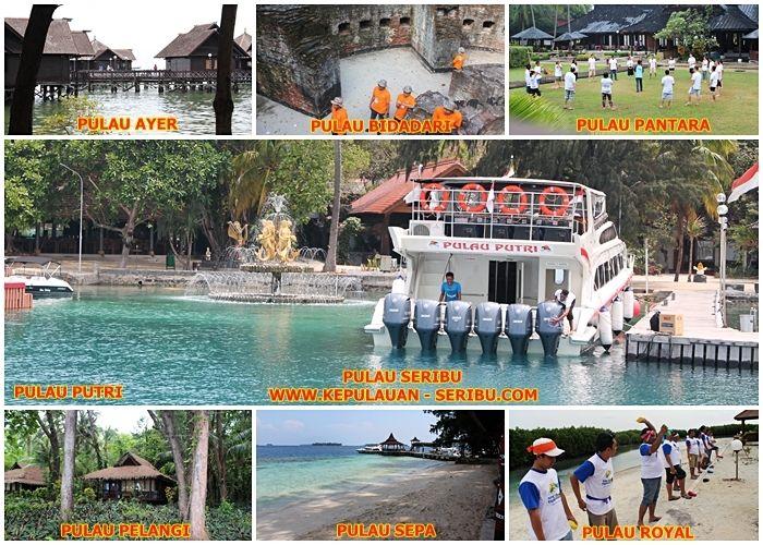 Pulau Seribu   Mempunyai Beberapa Pulau Resort