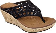 Women's+Skechers+Beverlee+Dazzled+Wedge+Sandal+with+FREE+Shipping+&+Exchanges.+Add+some+glittering+style+to+your+summery+looks+with+the+SKECHERS+Cali+