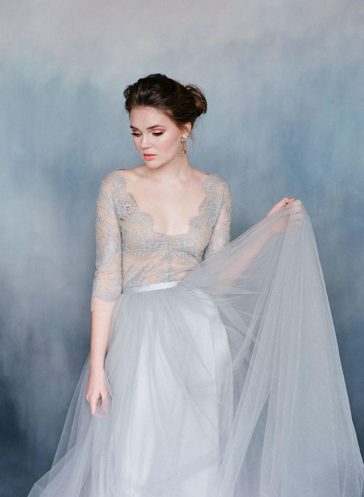 Moonstone wedding dress