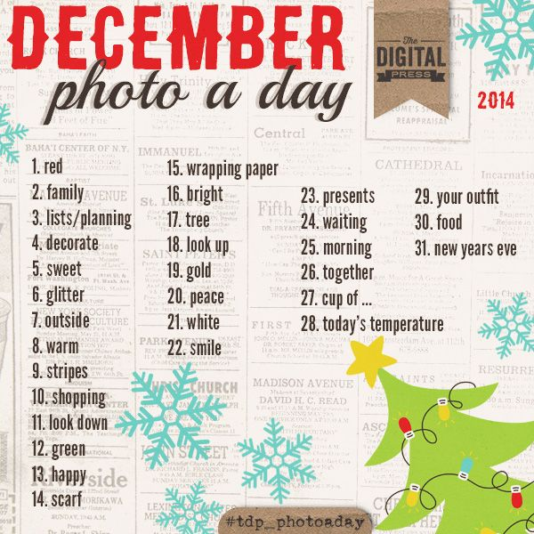 *December* Photo a Day Challenge - The Digital Press