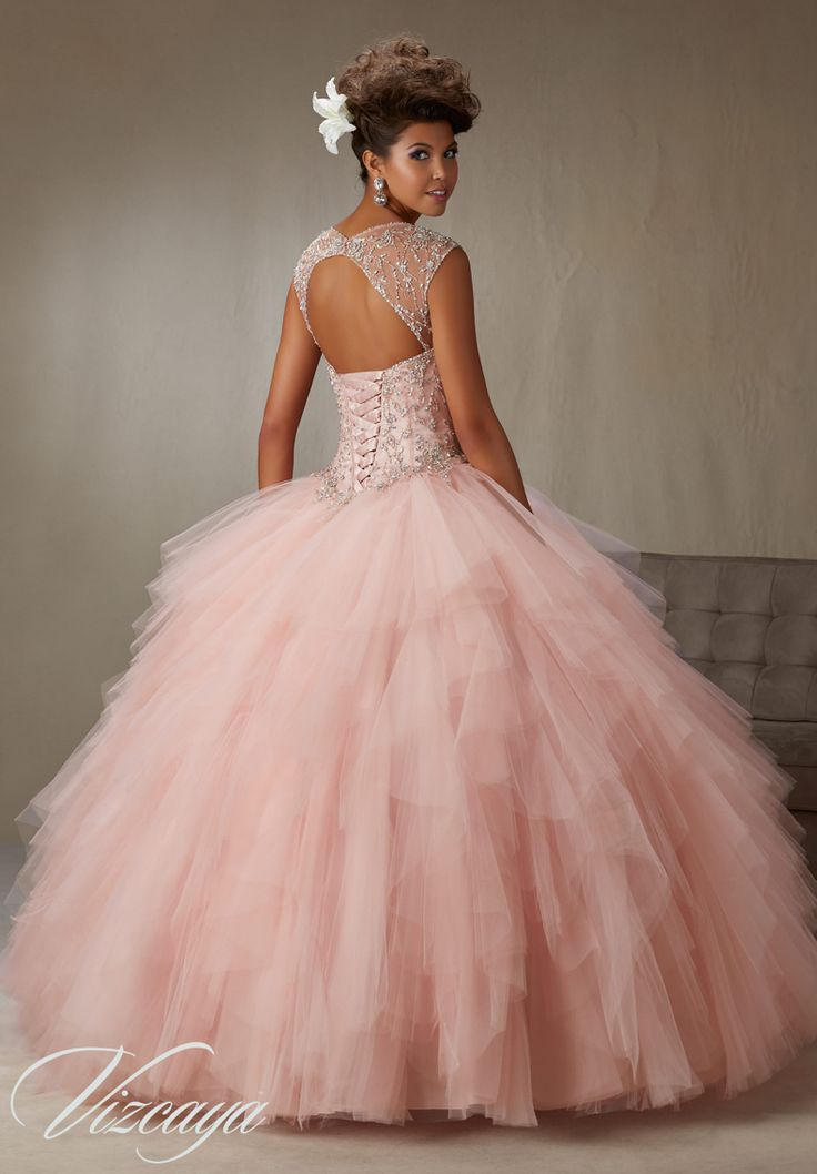 Quinceanera Dress Vizcaya Morilee 89066 Embroidery And