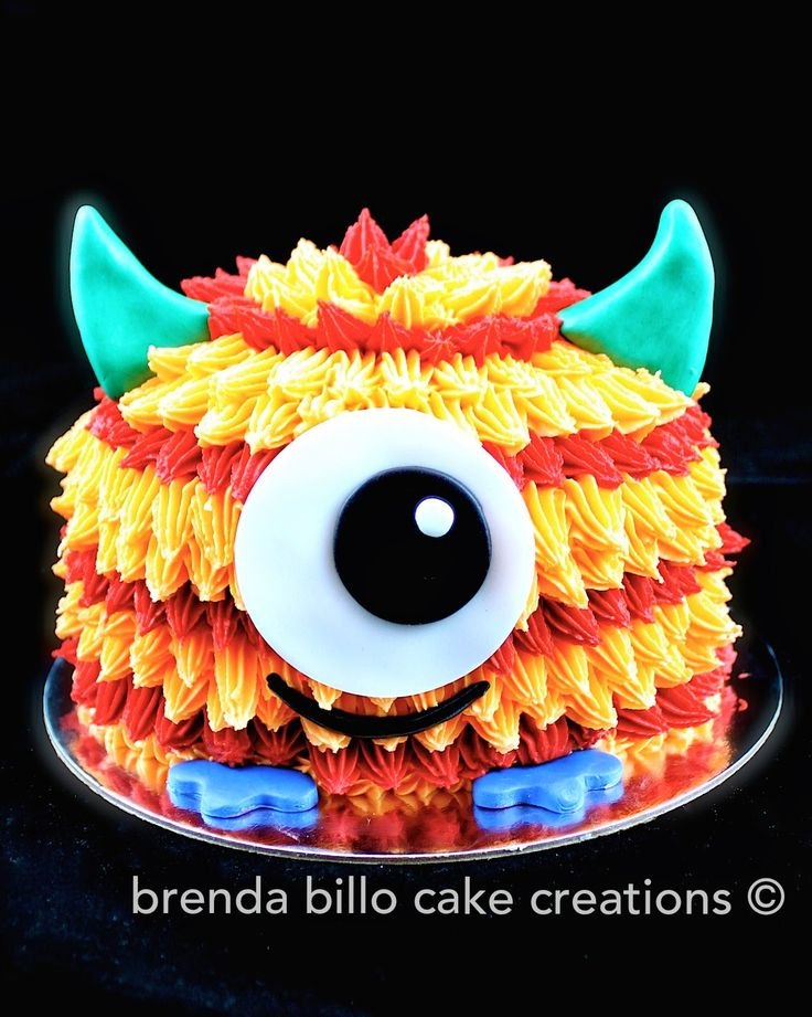 Brenda Billo Cake Creations: monster smash