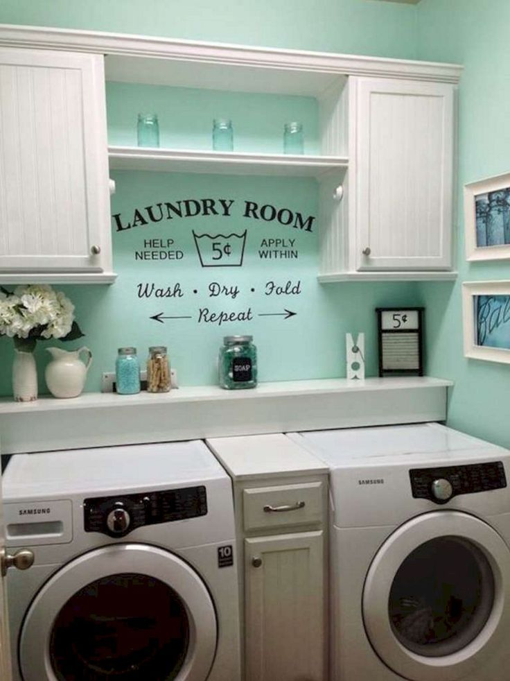 43 beautiful laundry room design ideas for your home