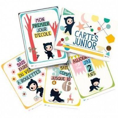 Cartes photos souvenirs Junior (1 à 4 ans) : Milestone Cards