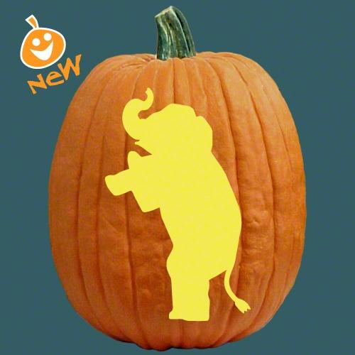 Halloween elephant for the love of elephants pinterest for How to carve an elephant on a pumpkin