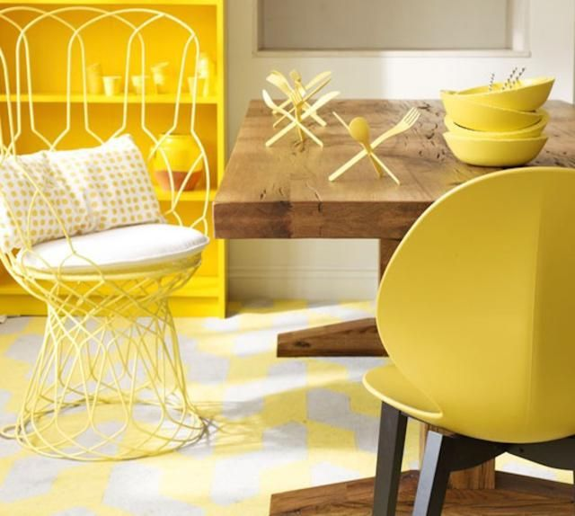 Pick Best Colors for Your Home: Feng Shui of Color Yellow - Sunny, Nourishing, Happy - Fire or Earth Element