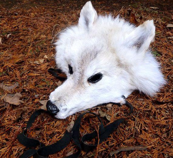 CUSTOM wolf mask headdress dance costume  your by thegreenwolf, $40.00