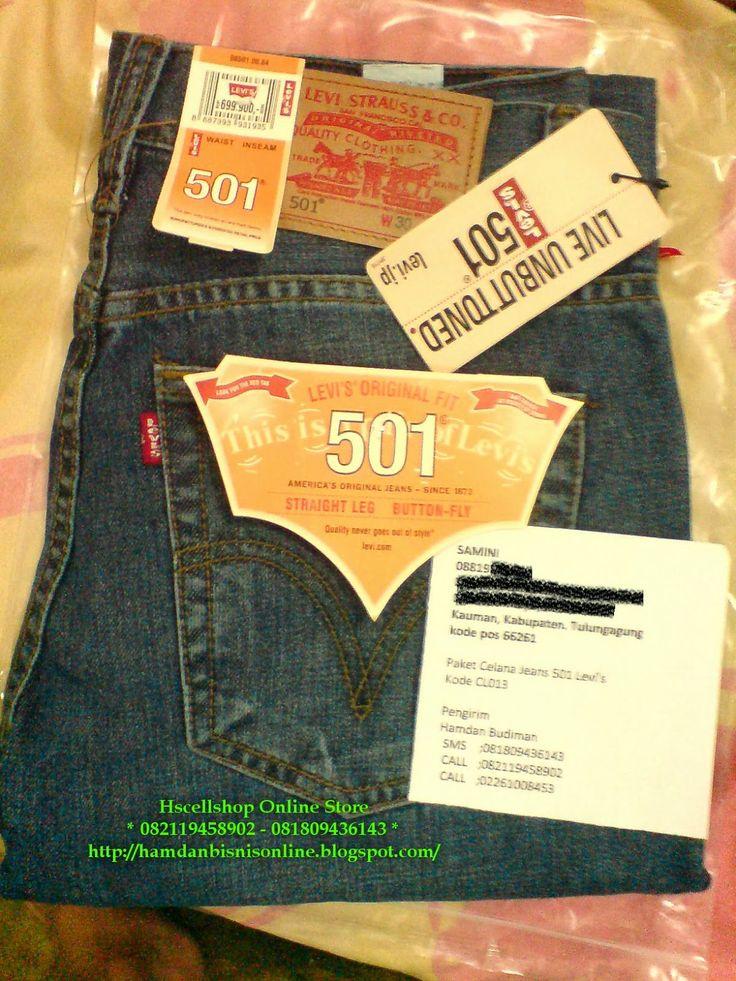 hscellshop: Pengiriman Celana Jeans Levi's 501  5 Maret 2014