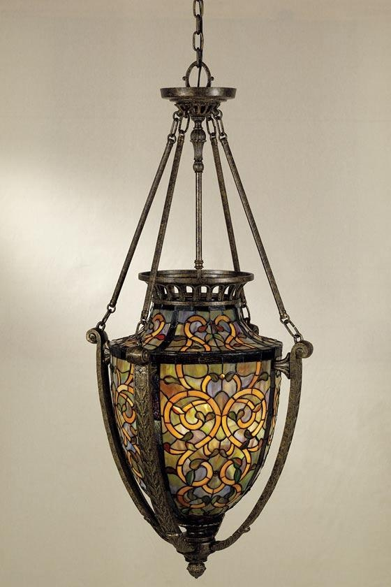 706 best tiffany lamp images on pinterest tiffany lamps found it at wayfair quoizel anfora 4 light tiffany foyer pendant aloadofball Gallery