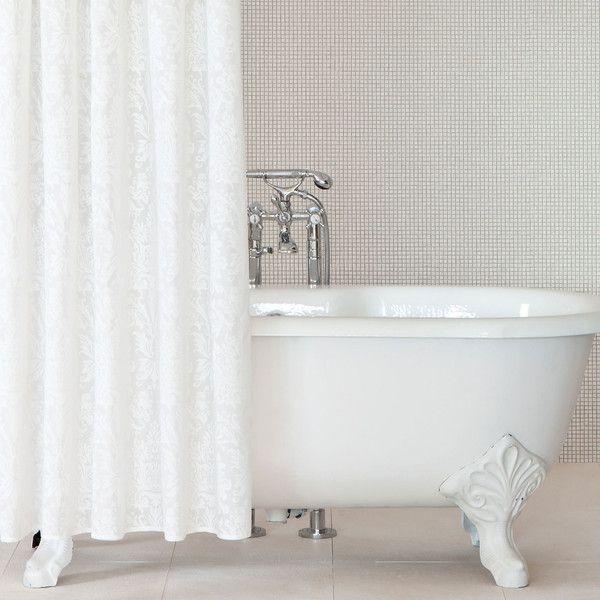 Zara Home Damask Print Shower Curtain 19